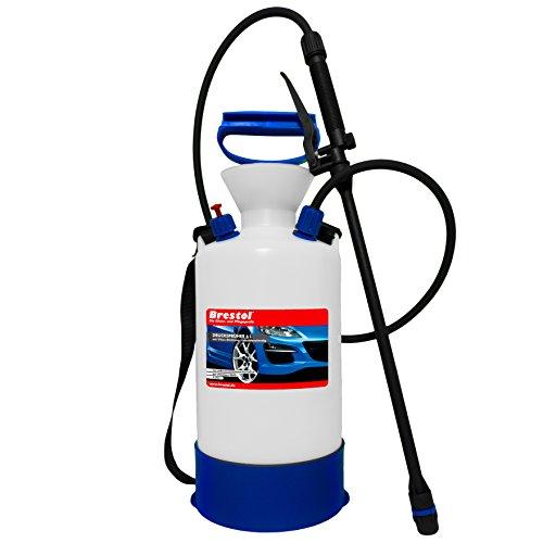 Drukspuit 6 liter met zuurbestendige Viton® afdichting, sproeier voor chemicaliën 3 Bar Drukventiel Tuinsproeier, Achtersproeier, Druksproeier, Plantensproeier Onkruidspuit