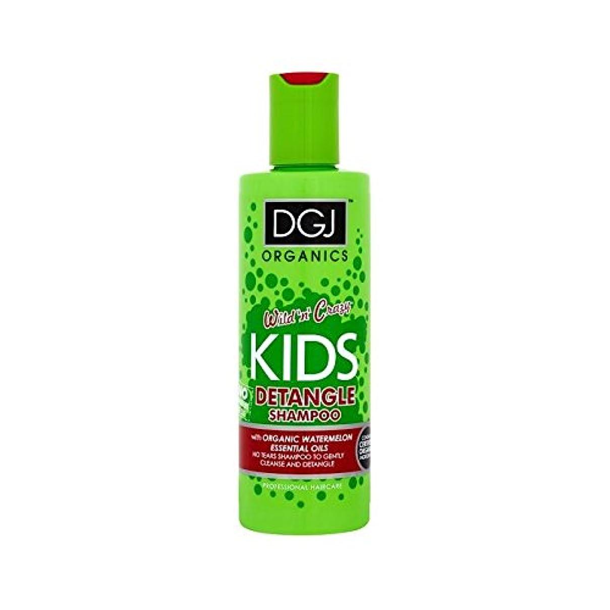 浜辺ドックものDgj子供たちはシャンプー250ミリリットルをもつれ解除スイカ (DGJ Organics) (x 6) - DGJ Kids Watermelon Detangling Shampoo 250ml (Pack of 6) [並行輸入品]