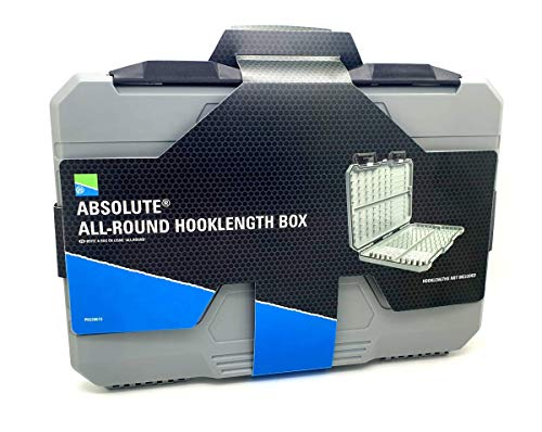Preston Innovations Absolute All-round Hooklength Box Fishing Hook Storage