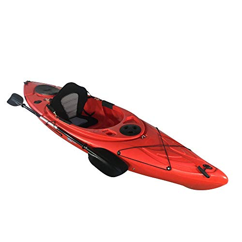 Cambridge Kayaks ES, Herring Rojo Kayak DE Paseo Y Pesca, RIGIDO,