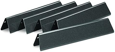 Weber 7636 Porcelain-Enameled Flavorizer Bars for Spirit 300 Series Gas Grills (15.3 x 2.6 x 2.5) , Black