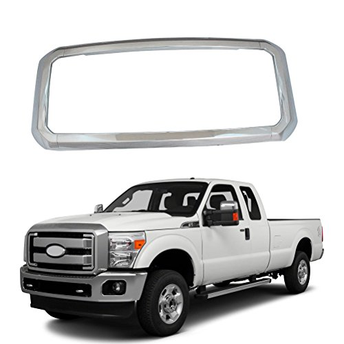 NINTE Grill Covers for Ford F-250 F-350 F-450 Super Duty 2011-2016, ABS Chrome...