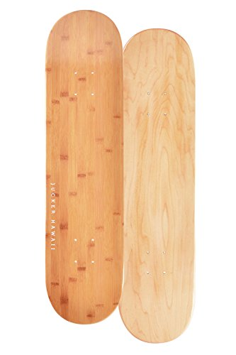 JUCKER HAWAII Skateboard/Cruiser Deck Bamboo 7.75