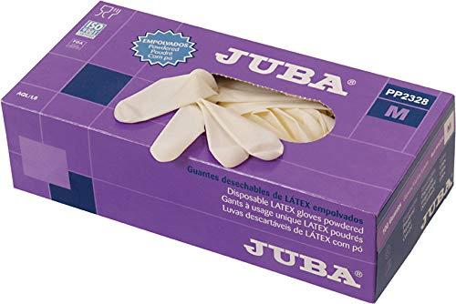Juba personal protective equipment M122332 - Guante latex desechable eco empolvado talla l