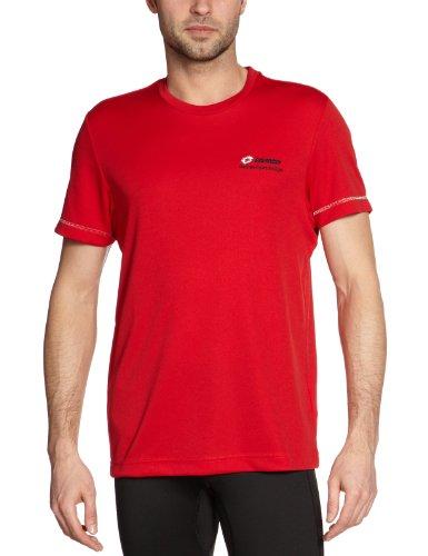 Lotto Sport Daniel BS PL T-Shirt pour Homme Rouge Rouge XXL