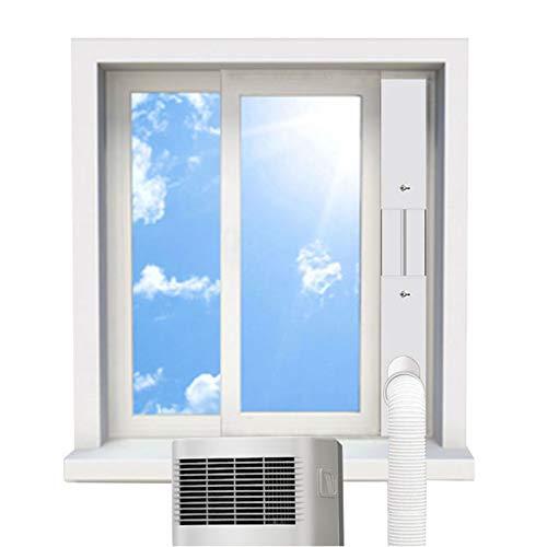 Window Seal | Mobile Air Conditioners Sliding Window PVC Seal Kit | Multipurpose Window Vent, Suitable for Portable Air Conditioner with 5.1'/13cm AC Air Conditioner Diameter Hoses