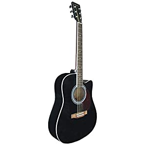 Greg Bennett GA-100SCE/VS - Guitarra acústica: Amazon.es ...