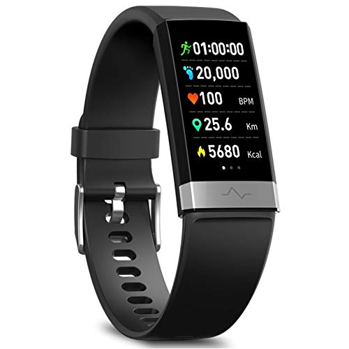 MorePro Fitness Tracker HRV,HD Color Screen Activity Tracker...