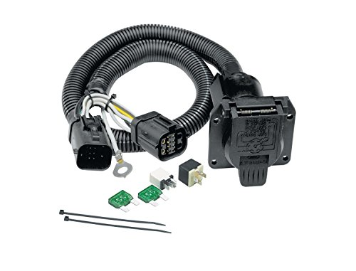 Tekonsha Tow Harness, 7-Way, Compatible with Select Ford F-150, F-150 Heritage,...