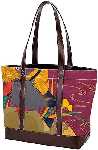 SpiceRack Umweltfreundliche TascheLeichtgewichtsriemen tolle Hundeskizze Handtaschen Einkaufstasche Geldbörse Einkaufen für Mutter Frauen Mädchen Damen Student Umhängetaschen