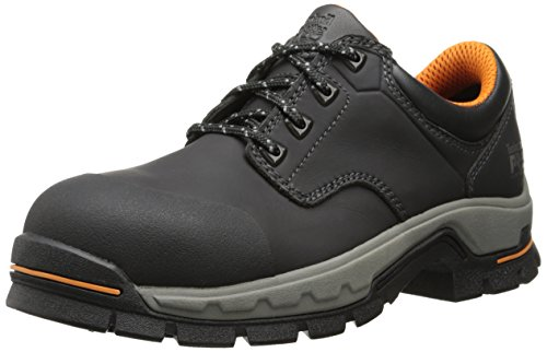 Timberland PRO Men's Stockdale Grip Max Ox Alloy Toe Work and Hunt Boot, Black Microfiber, 8.5 W US