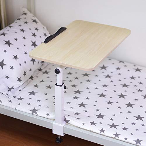 Home Beistelltische Einfache Studentenwohnheim Kleinen Schreibtisch Faltbare Faulen Kleinen Tisch Bett Computertisch Computer Klapptisch, BOSS LV, Weiße Ahornfarbe
