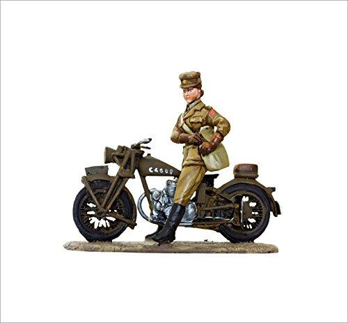 Red Caps smi004 Soldats de plomb en moto Norton 16h