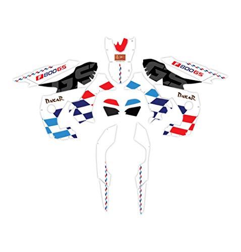 Etiqueta engomada de Cuerpo Completo de la Motocicleta Protector A Prueba de Agua Resistentes a los rasguños Los calcomanías para BMW F800GS 2008-2012 F 800GS F800 Etiqueta Decorativa