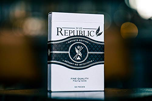 Purchase Playing Cards Ellusionist Republic No. 3 Artists Edition Rare Limited