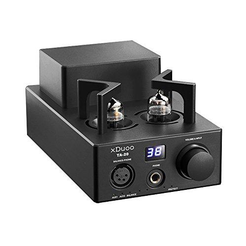 XDUOO TA-20 High Performance Balanced Tube Headphone Amplifier Power Amplifier Black