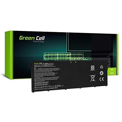 Green Cell® AC14B3K AC14B8K Batería para Acer Aspire E15 ES1-512 E17 E5-771 E5-771G R11 R3-131T R13 R7-371T R7-372T 14 R5-471T 15 R5-571T Portátil (2200mAh 15.2V)