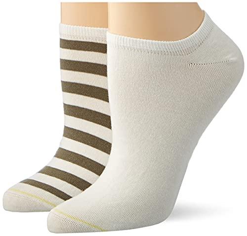 Camel Active Womenswear Damen 3002515A51 Socken, Weiß/Grün (34), 35-38