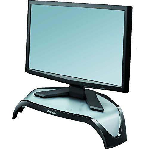 Fellowes - Smart Suites - Soporte elevador para monitor de ordenador de sobremesa y portátil, ajustable en altura
