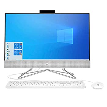 HP 23.8  Touchscreen All-in-One Desktop - AMD Ryzen 3 4300U - 1080p 8GB Memory 1TB Hard Drive Size+256 GBSSD Wired Keyboard and Mouse Microsoft Windows 10 Home