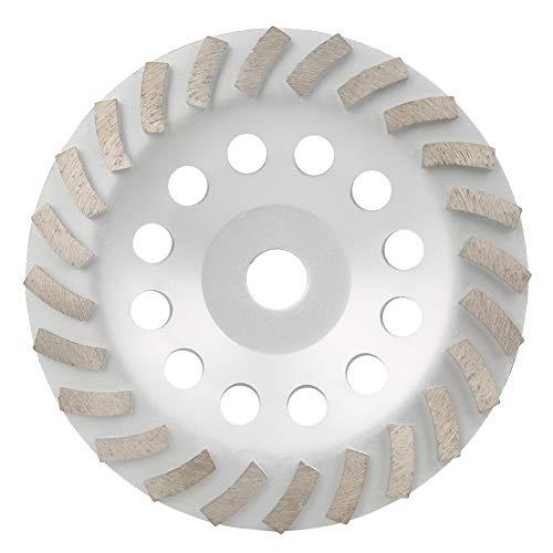 Baverta Machine de réparation de Chaussures-Machine de réparation de Chaussures meule de Tasse de meulage de Diamant pour Le Granit de Carreaux de céramique de marbre de béton 175mm