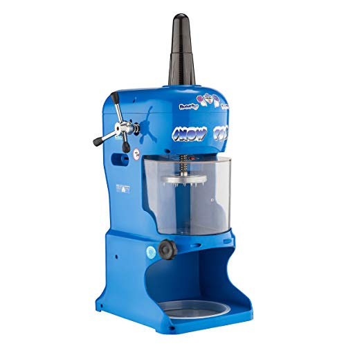 Great Northern Popcorn Company 6062 Snow Cub Ice Shaver, 14L x 17W X 34'H, Blue