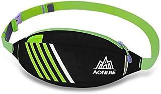 TT WARE Outdoor Sport Running Waist Bag High Capacity Waterproof Climbing Cycling Bag-Black