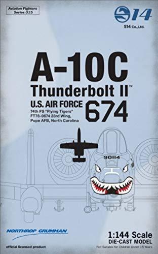 """アヴィエーションファイターズ 1/144 No. AVFS-015 A-10C Thunderbolt II (74th FS""""Flying Tigers"""")"""