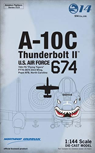 "アヴィエーションファイターズ 1/144 No. AVFS-015 A-10C Thunderbolt II (74th FS""Flying Tigers"")"