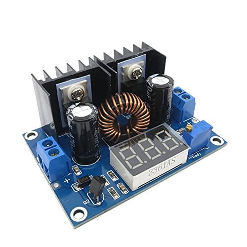 Módulo de relé XL4016 Con DIRIGIÓ Digital AJUSTABLE 4-36V a 1.25-36V Módulo de la placa reducida máximo 8A 200W DC-DC Fuente de alimentación del convertidor de Buck Kit de componentes electrónicos