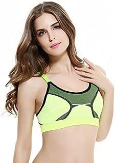 BEESCLOVER Shockproof Sports Fitness Bra Cross Back Quick Dry Sling Summer Gym Yoga Running Tennis Badminton Sport Vest Girl Underwear