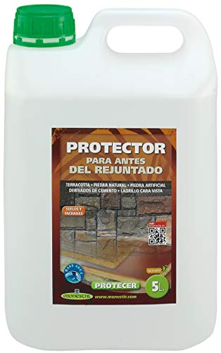 PROTECER MONESTIR Protector de antes del rejuntado para baldosas terracotta o barro cocido (5 litros)