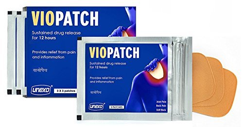 Lowest Price! Herbal Pain Relief Patch-Joint and Muscular Pain, 3 x 3 Pack of Patches