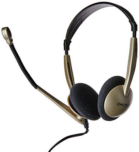 KOSS 159617/183533 CS100 On-Ear-Kommunikations-Headset