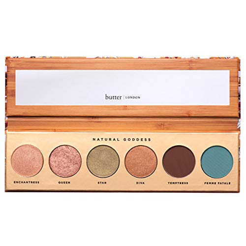 butter LONDON Natural Goddess Eye Shadow Palette, .26 Ounce
