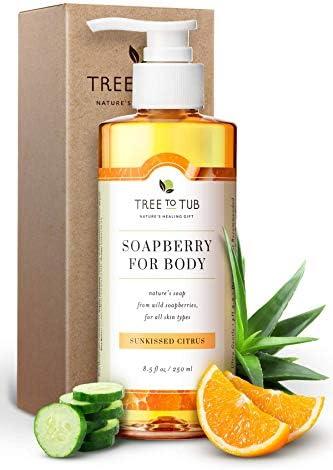 Sensitive Skin Body Wash by Tree to Tub pH 5 5 Balanced Moisturizing Body Wash Eczema Body Wash product image
