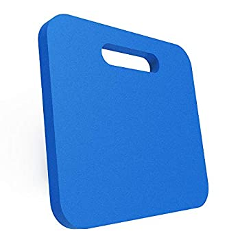 Blufree Sports Cushion Stadium Seat Pad 0.9inch Extra Thick Foam Seat Cushion Chairs Pad with Carry Handle for Bleachers Beach Lawns Kayak Boating Sporting Event.