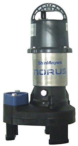 ShinMaywa 50CR2.15S Norus Stainless Steel Submersible Pump, 1/5 Horsepower