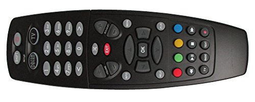 Universal satcheck Mando a Distancia Compatible con Dreambox DM 500HD/7020HD/7025/800SE/8000Negro