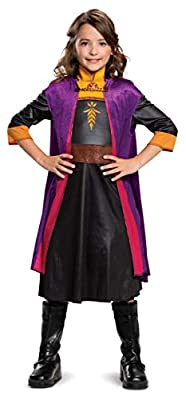 Disguise Disney Anna Frozen 2 Classic Girls' Halloween Costume