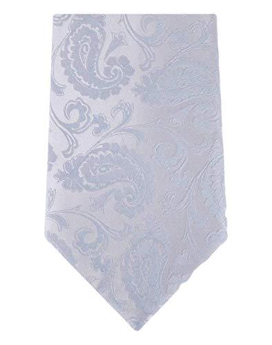 David Van Hagen Light Blue Paisley cravate de