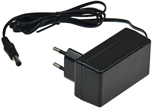 Stekker voeding oplader stroomvoorziening CTN universeel inzetbaar voor LED Stripe Notebook Reader lampen lampen, 24V= 24Watt / 1A, zwart, 0