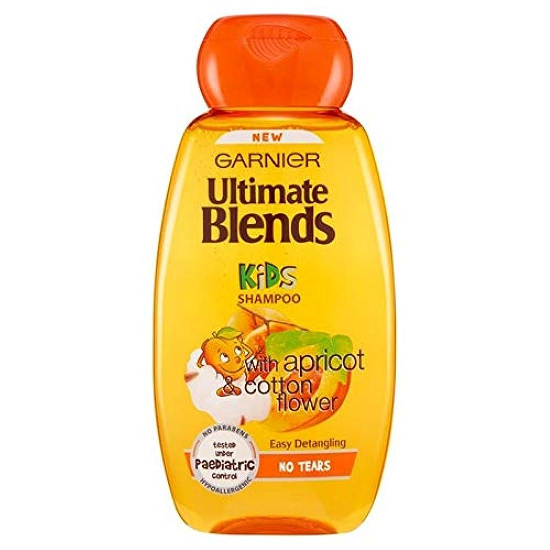 隙間豪華な発疹[Garnier ] ガルニエ究極のブレンド子供用アプリコット&コットンフラワーシャンプー250Ml - Garnier Ultimate Blends Kids Apricot & Cotton Flower Shampoo 250ml [並行輸入品]