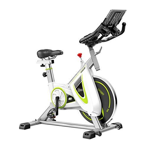 Vélos elliptiques Bicicleta Estática De Pedales Bicicleta De Spinning Ultra Silenciosa Bicicleta Deportiva con Pantalla LCD Ajuste De Resistencia De 8 Velocidades