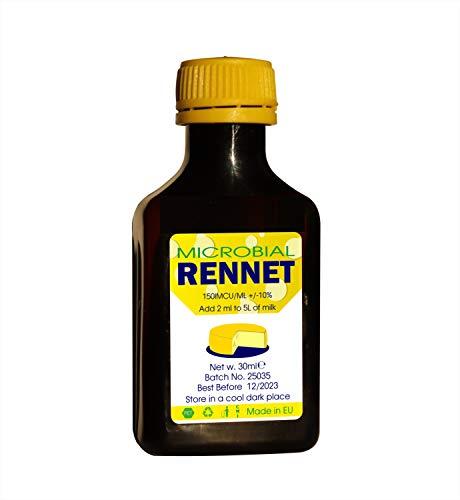 Microbial Liquid RENNET Coagulant 30ml | add 2ml per 5L of milk