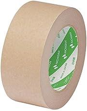 ニチバン ラミオフ再生紙クラフトテープ 50mm×50m巻 3105-50 黄土