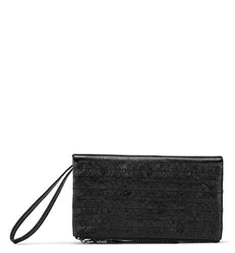 The Sak womens Wallet, Black Paillettes, 7.4in L x 1.3in W x 4in H