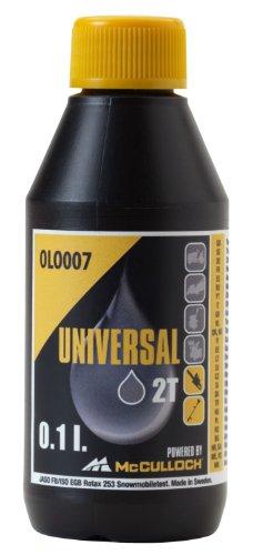 Huile Universal pour moteurs deux temps: Huile deux temps, 0,1 litre comme protection contre...