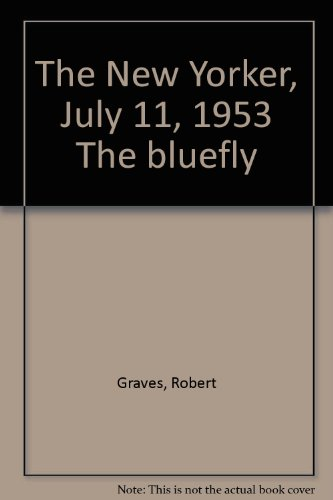 """The New Yorker, July 11, 1953 """"The bluefly"""""""