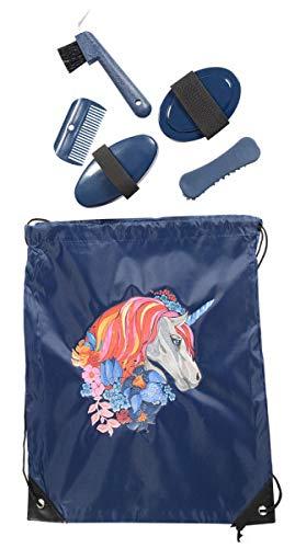 PFIFF 102790 Putzset, Putzbeutel Putztasche befüllt, Pferdeputzset Pferdepflege